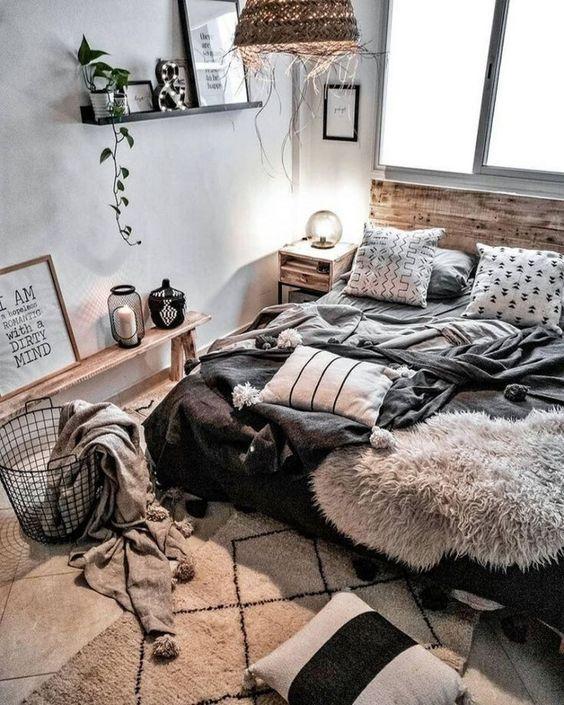 comfy winter bedroom