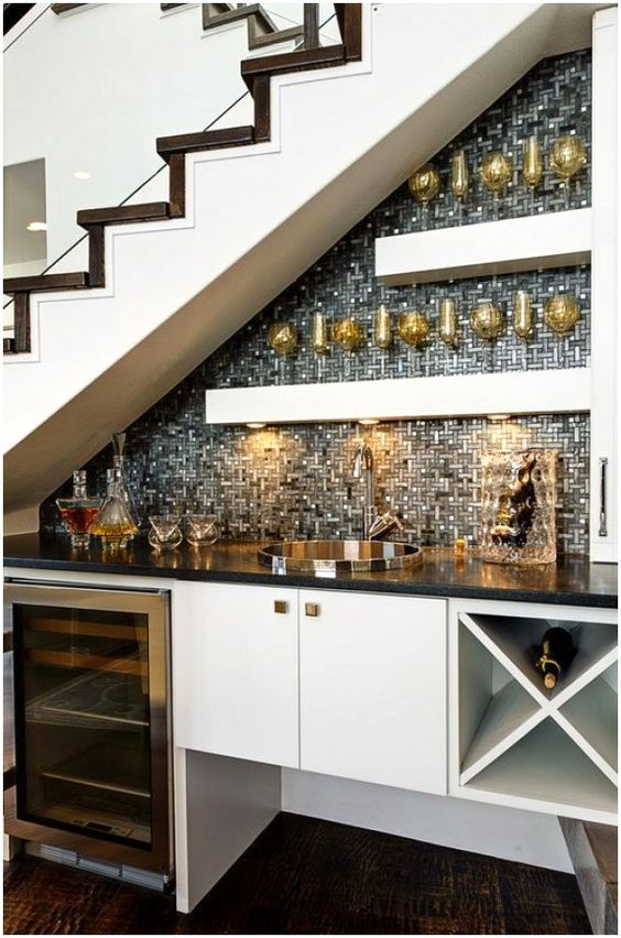 utilizing under the stairs tips