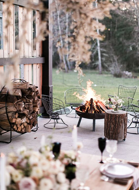 soft outdoor space for fall