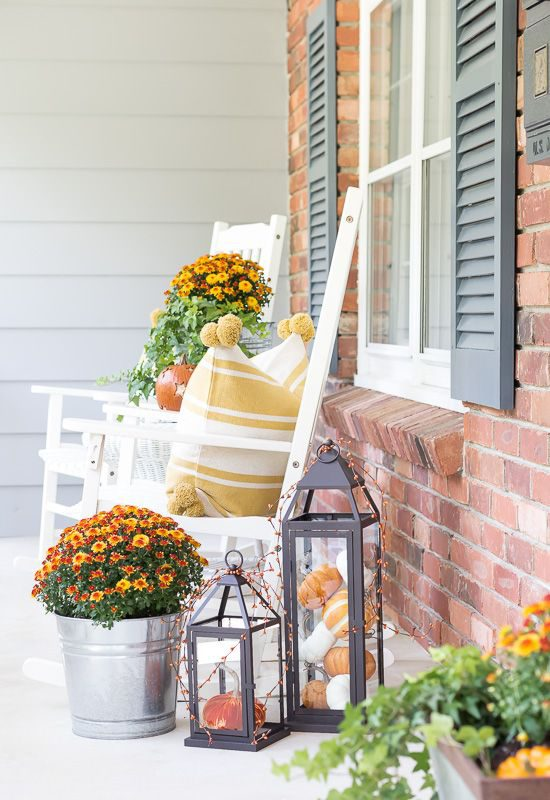 beautiful outdoor space for fall