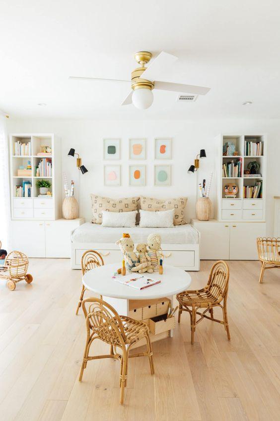 cozy playroom