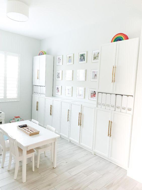 white nuances playroom
