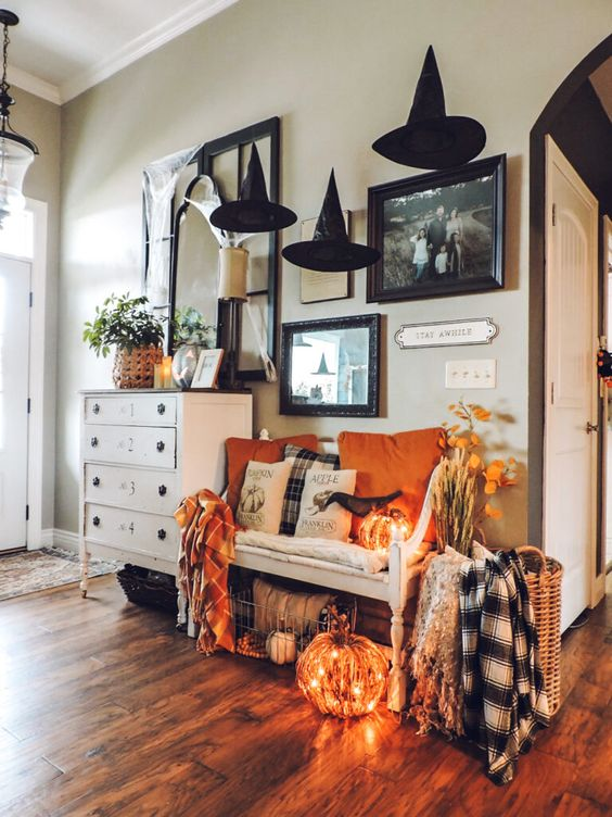 Best Decorate Home with Pumpkins Ideas
