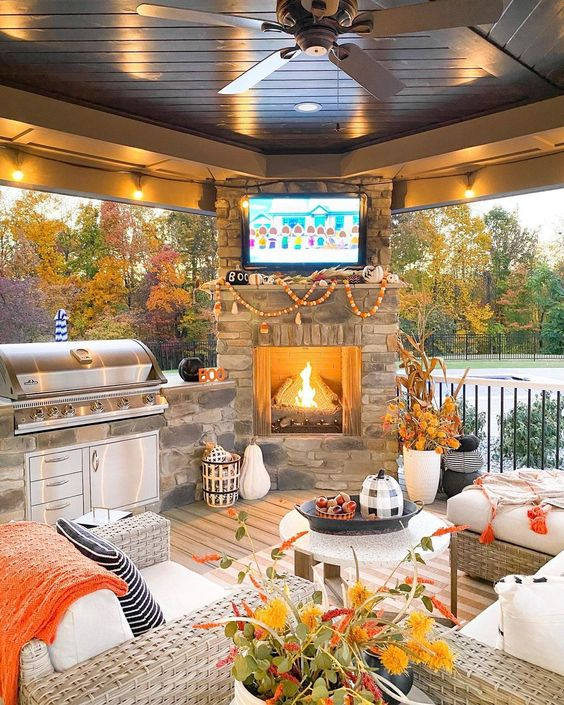porch for fall
