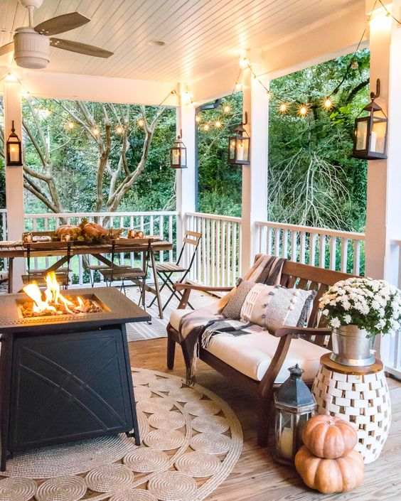 outdoor space for fall