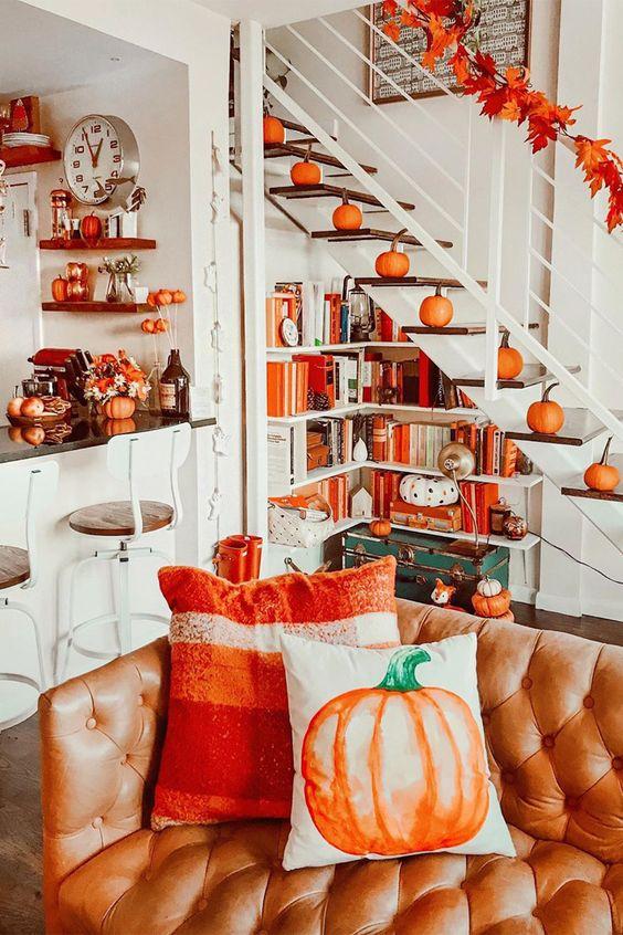 pumpkin home decor ideas