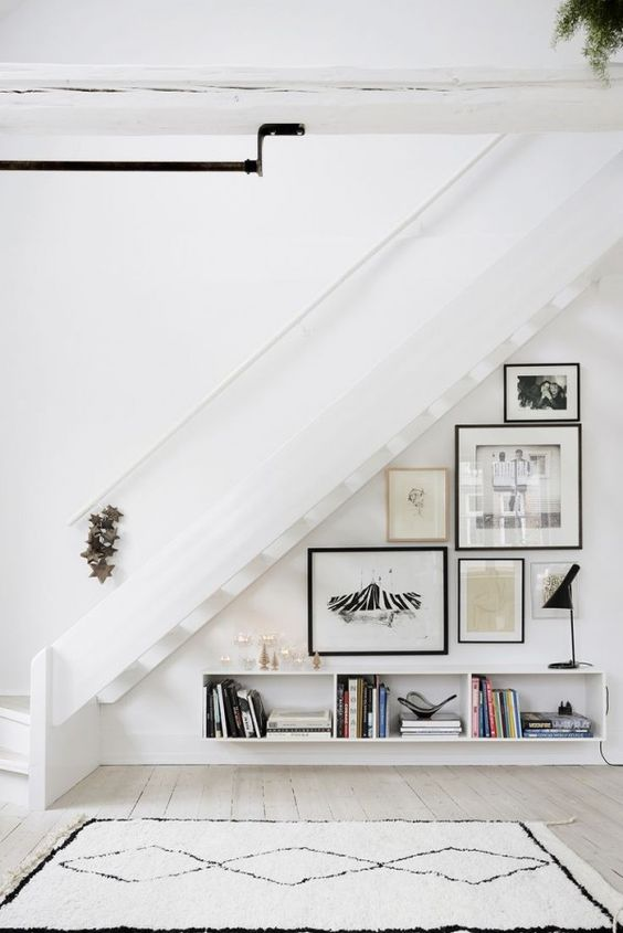 space under the stairs design